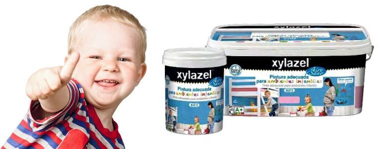 Xylazel lanza una pintura para ambientes infantiles